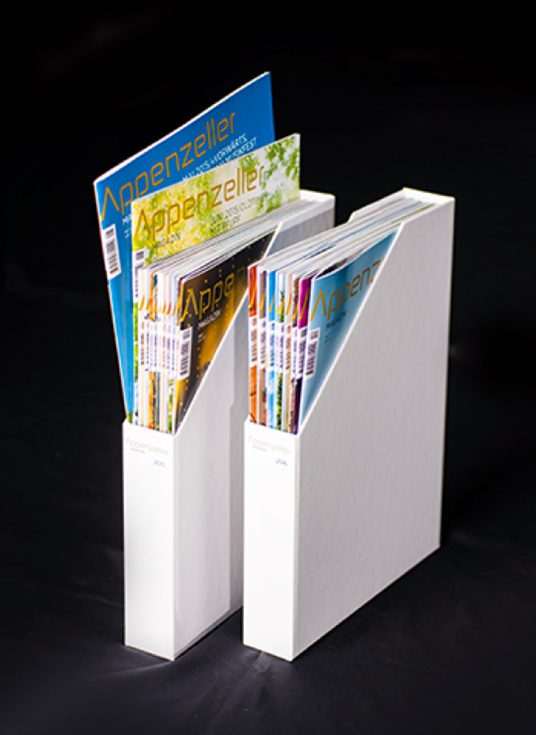 Sammelboxen für Magazine