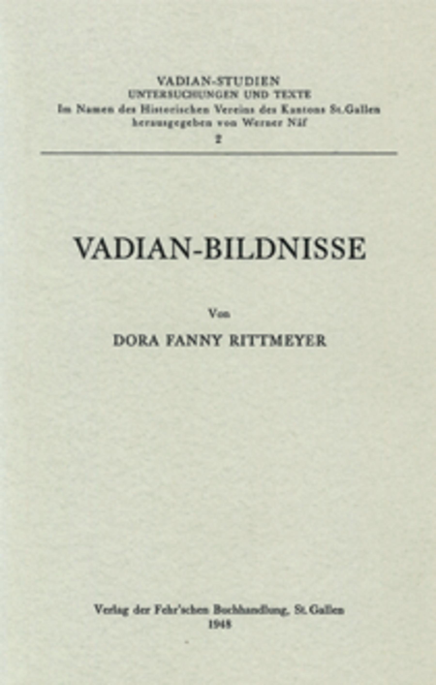 <p><p>Von Dora Fanny Rittmeyer