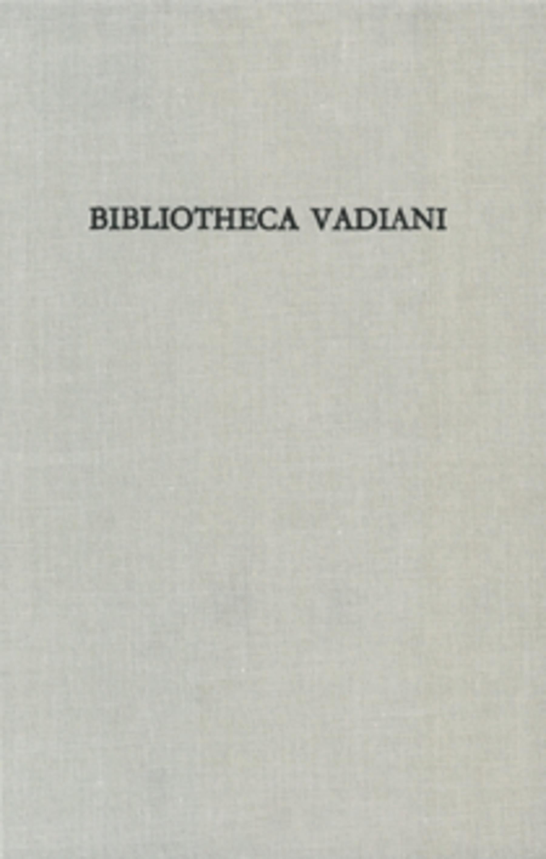 <p><p>Die Bibliothek des Humanisten Joachim von Watt nach de