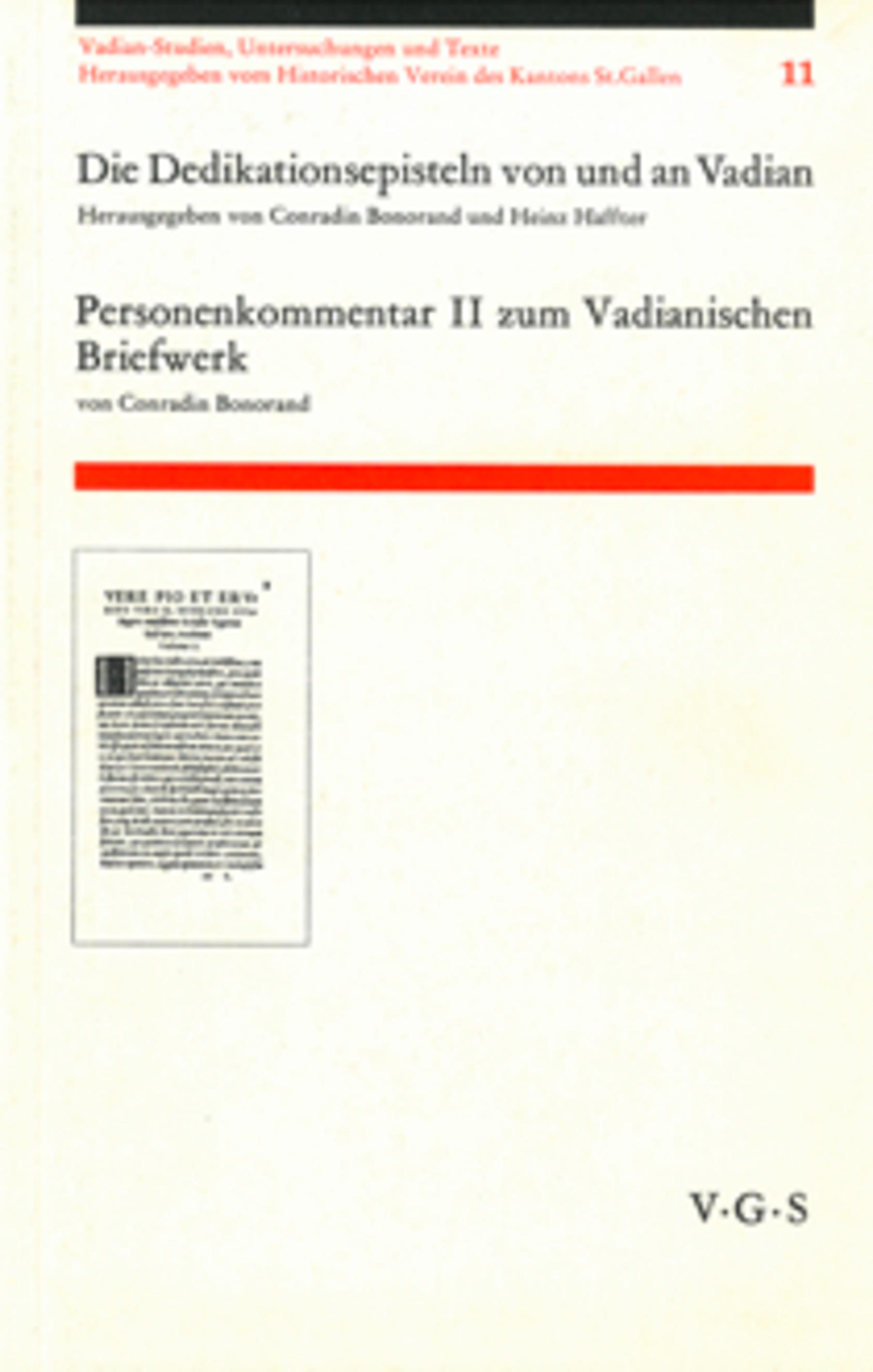 <p><p>Personenkommentar II zum Vadiani