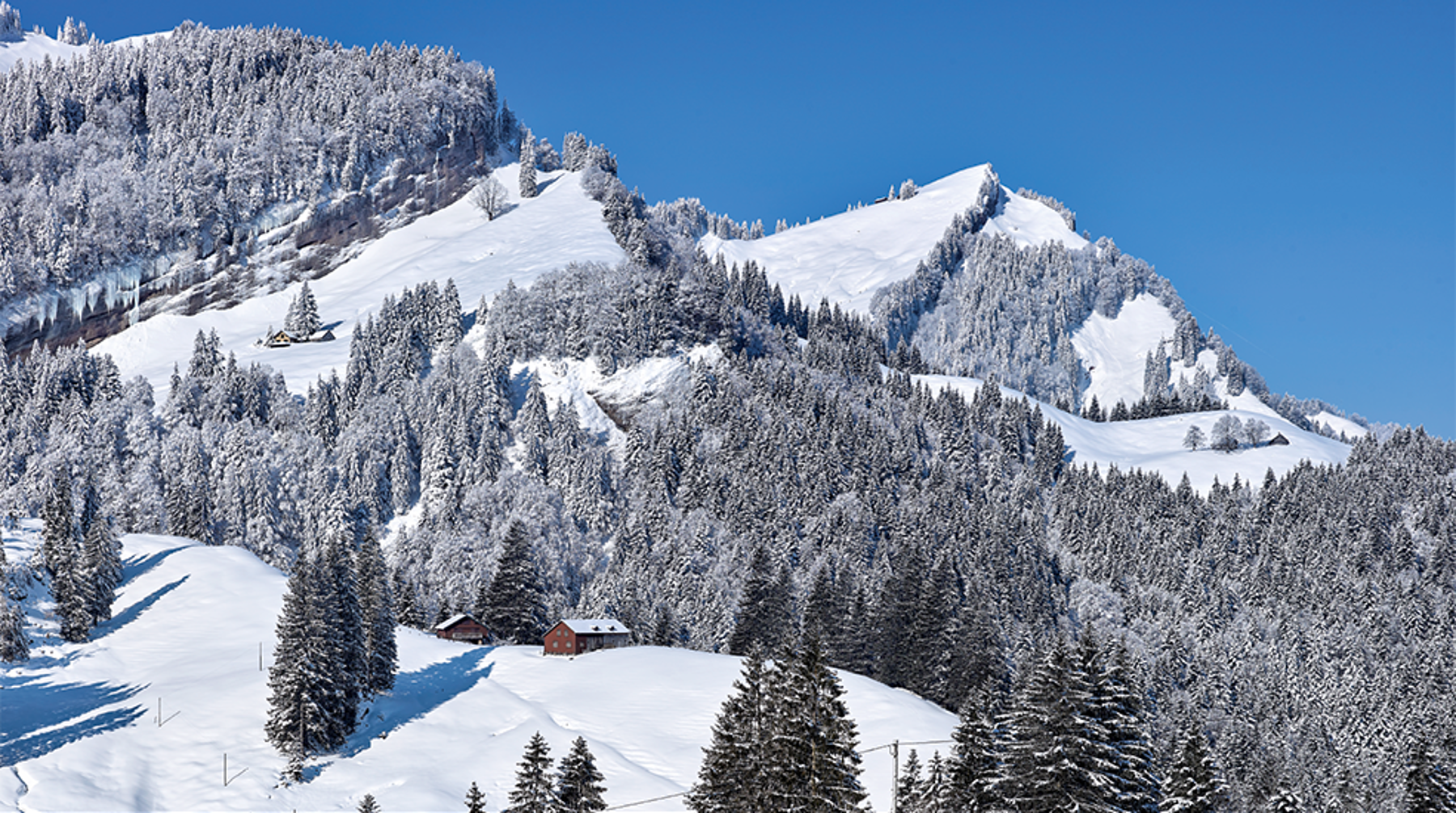Panorama Appenzellerland 2019 Januar