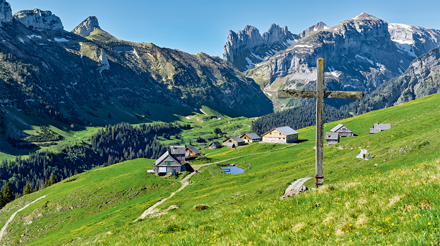Panorama Appenzellerland 2019 Mai