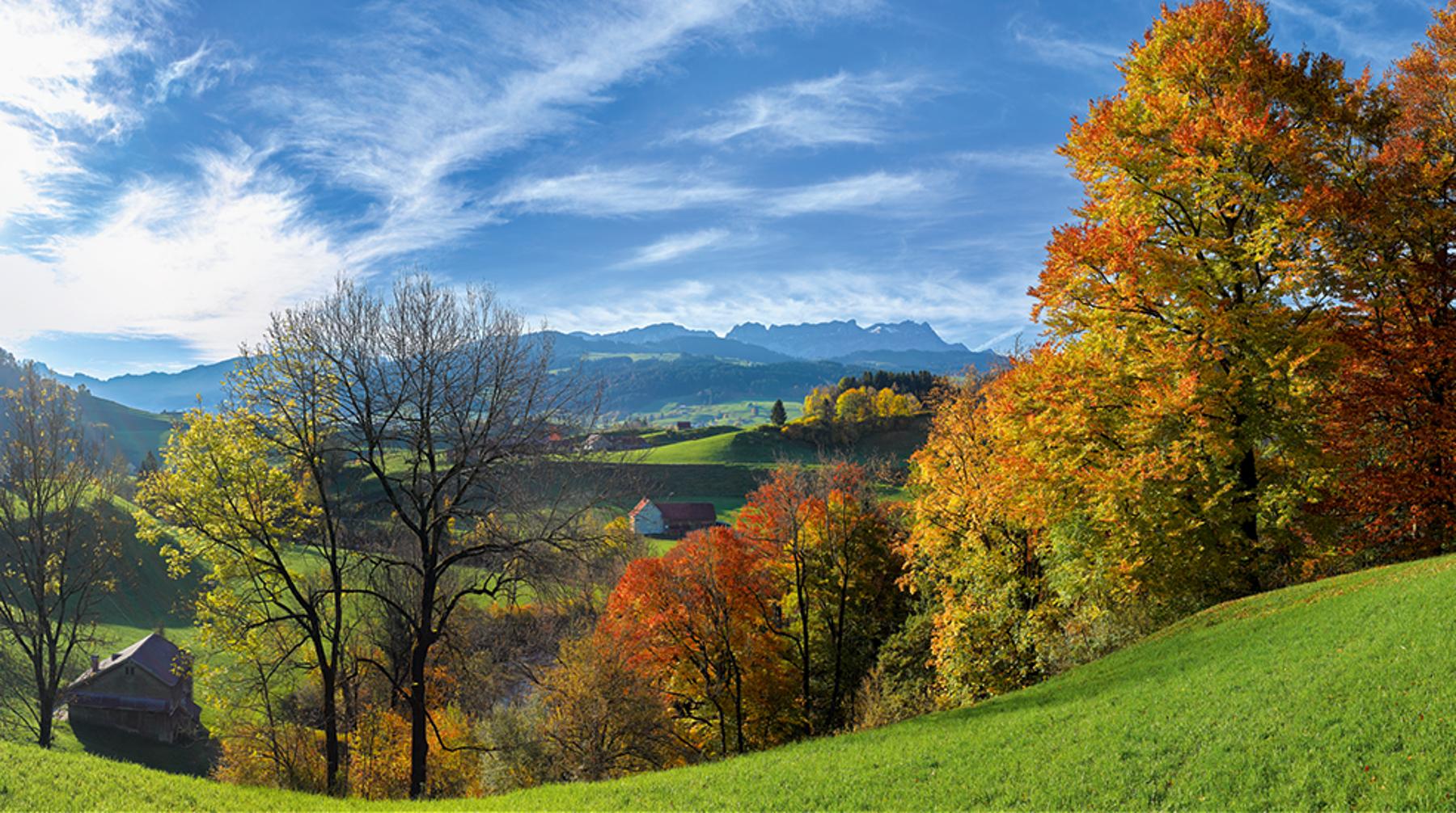 Panorama Appenzellerland 2019 November