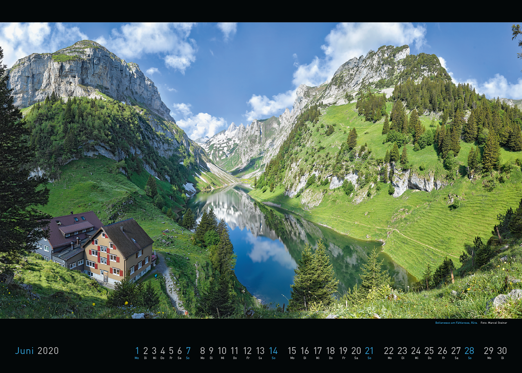Panorama Appenzellerland 2020 Juni