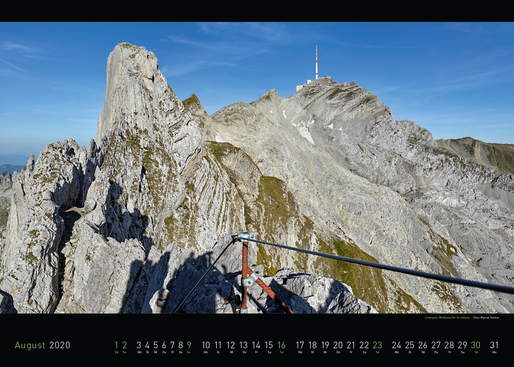 Panorama Appenzellerland 2020 August