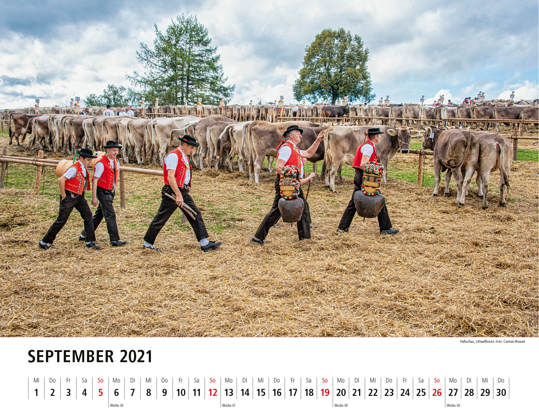 Appenzeller Bildkalender 2021 September