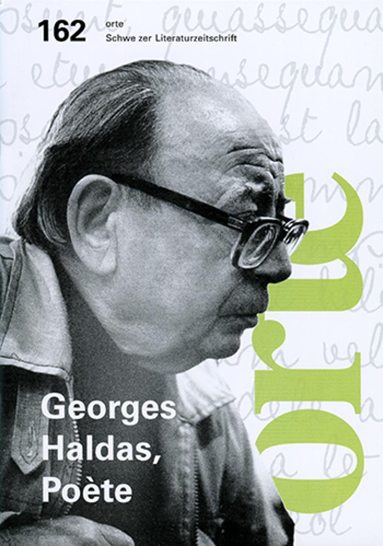 Nr. 162: Georges Haldas. Poète