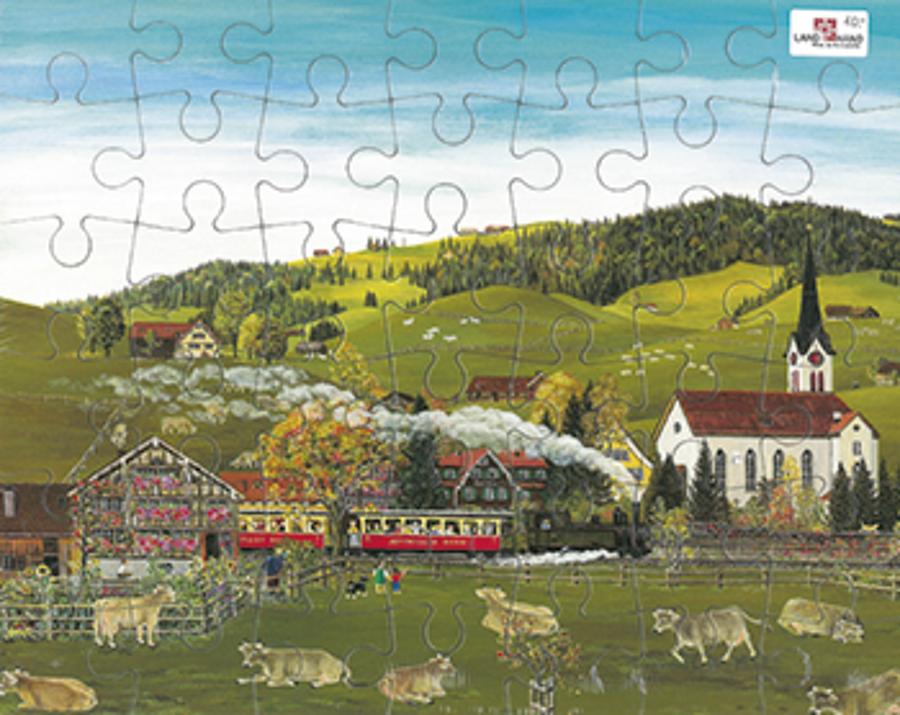Puzzle Appenzeller Bahn