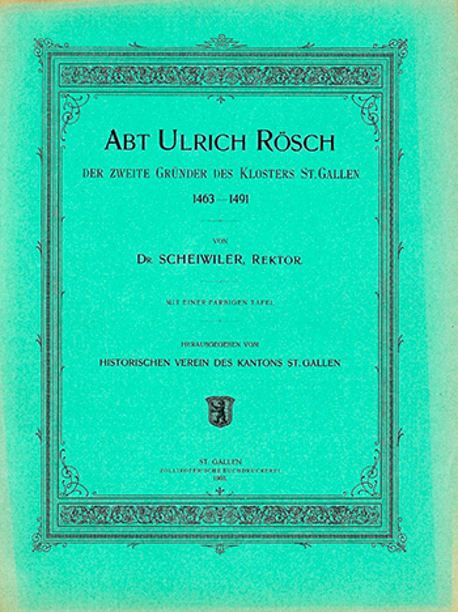 Abt Ulrich Rösch