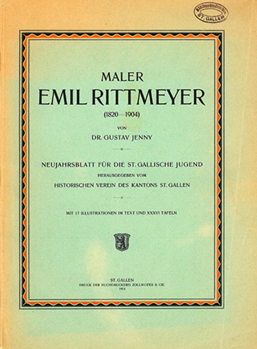Maler Emil Rittmeyer (1820-1904)