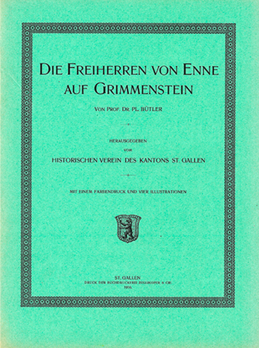 Die Freiherren von Enne auf Grimmenstein
