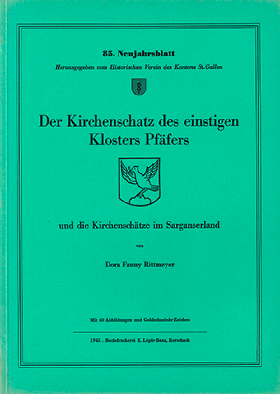 Der Kirchenschatz des einstigen Klosters Pfäfers