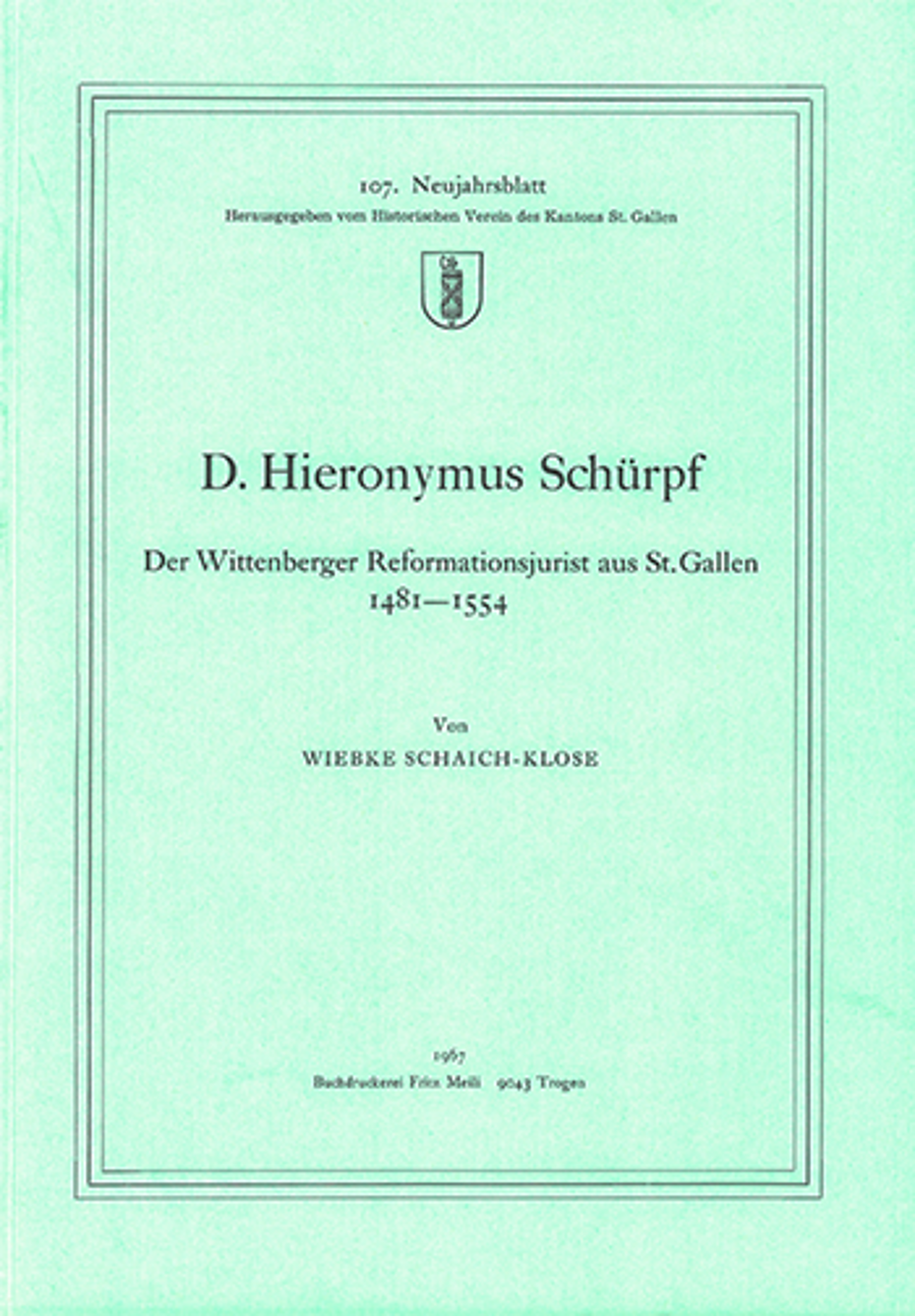 D. Hieronymus Schürpf