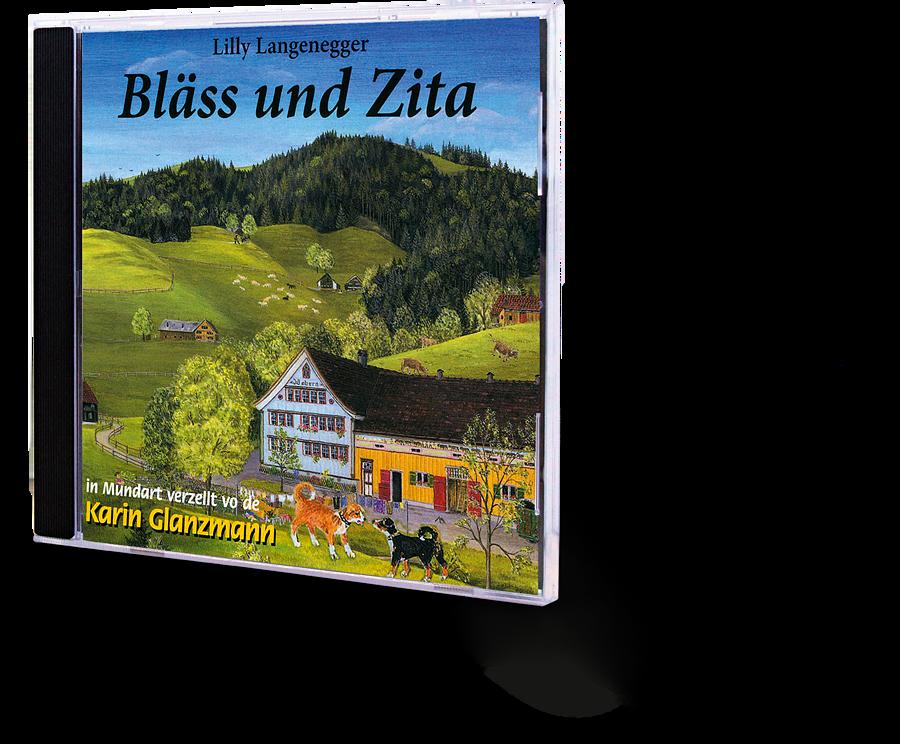 Bläss und Zita. Lilly Langenegger. Hörbuch. CD