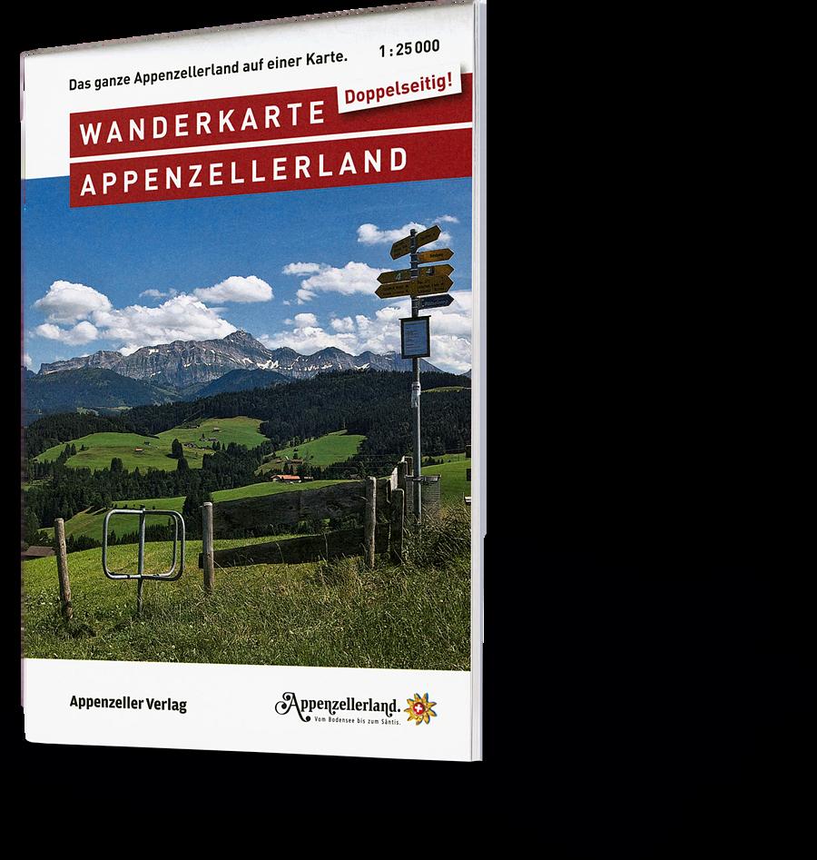 Wanderkarte Appenzellerland