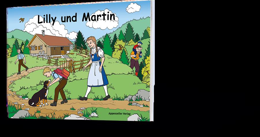 Lilly Langenegger: Lilly und Martin. Zeichnungsbuch