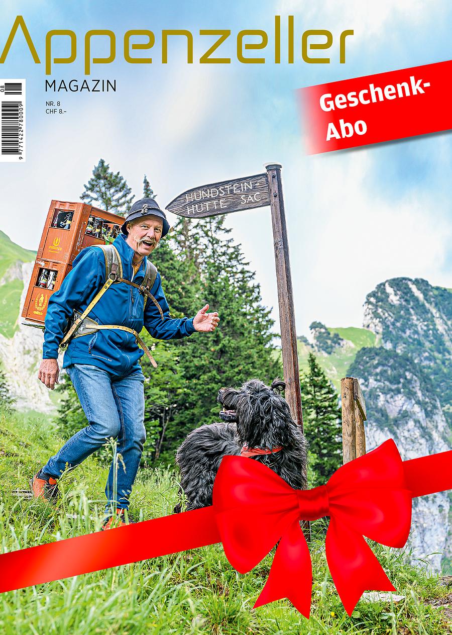Appenzeller Magazin Jahresgeschenkabo