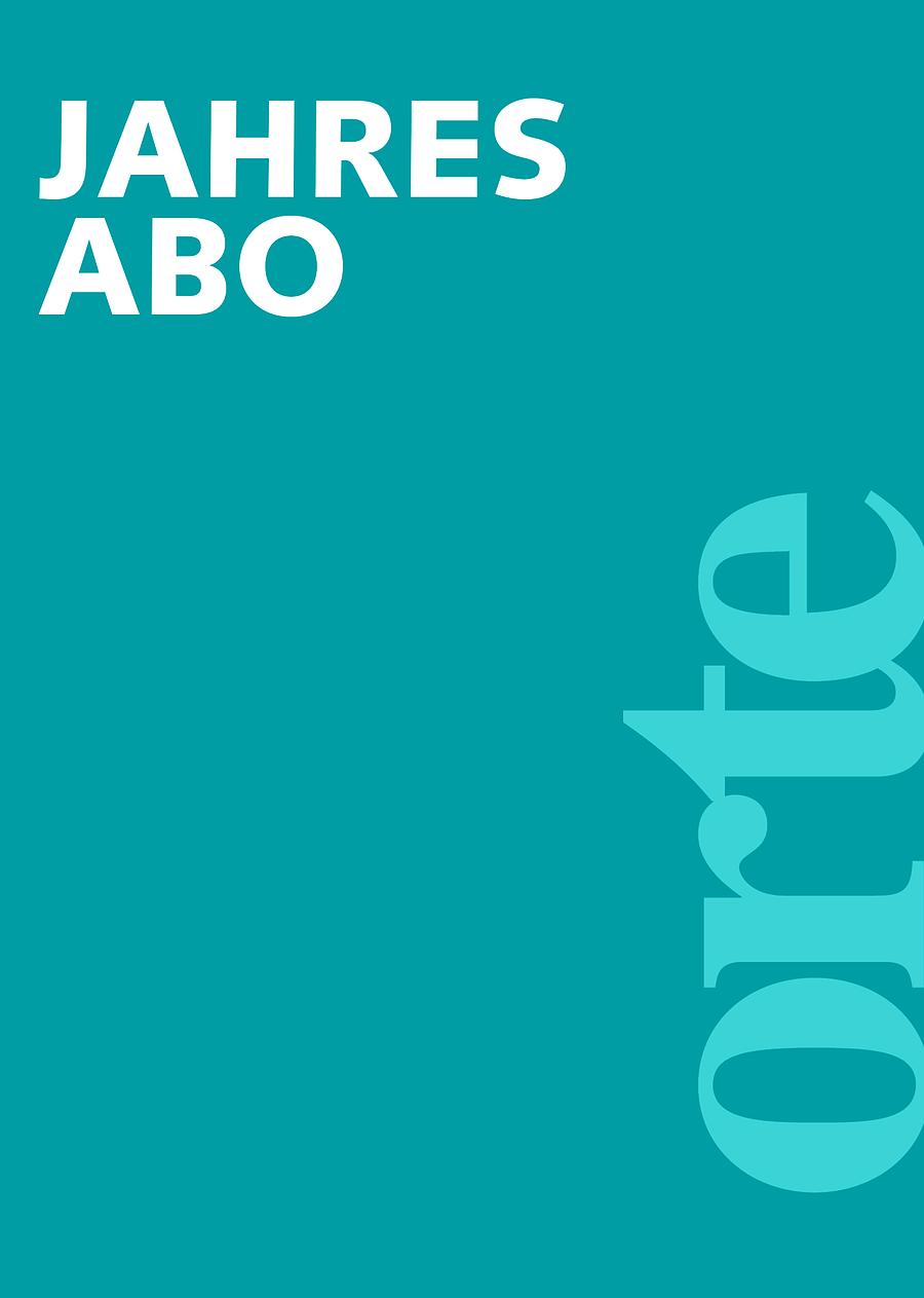 orte Literaturzeitschrift Jahresabo