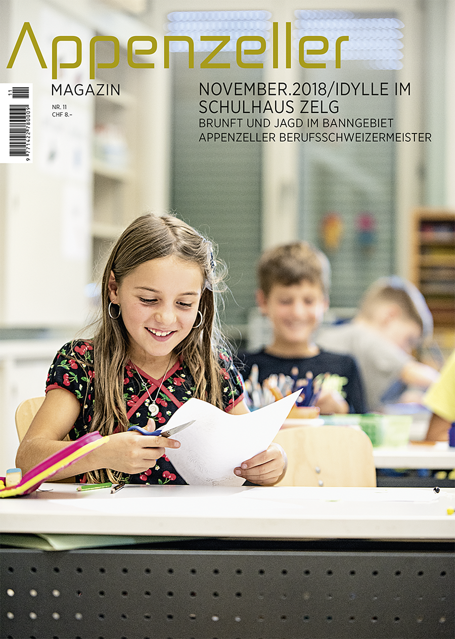 Appenzeller Magazin November 2018