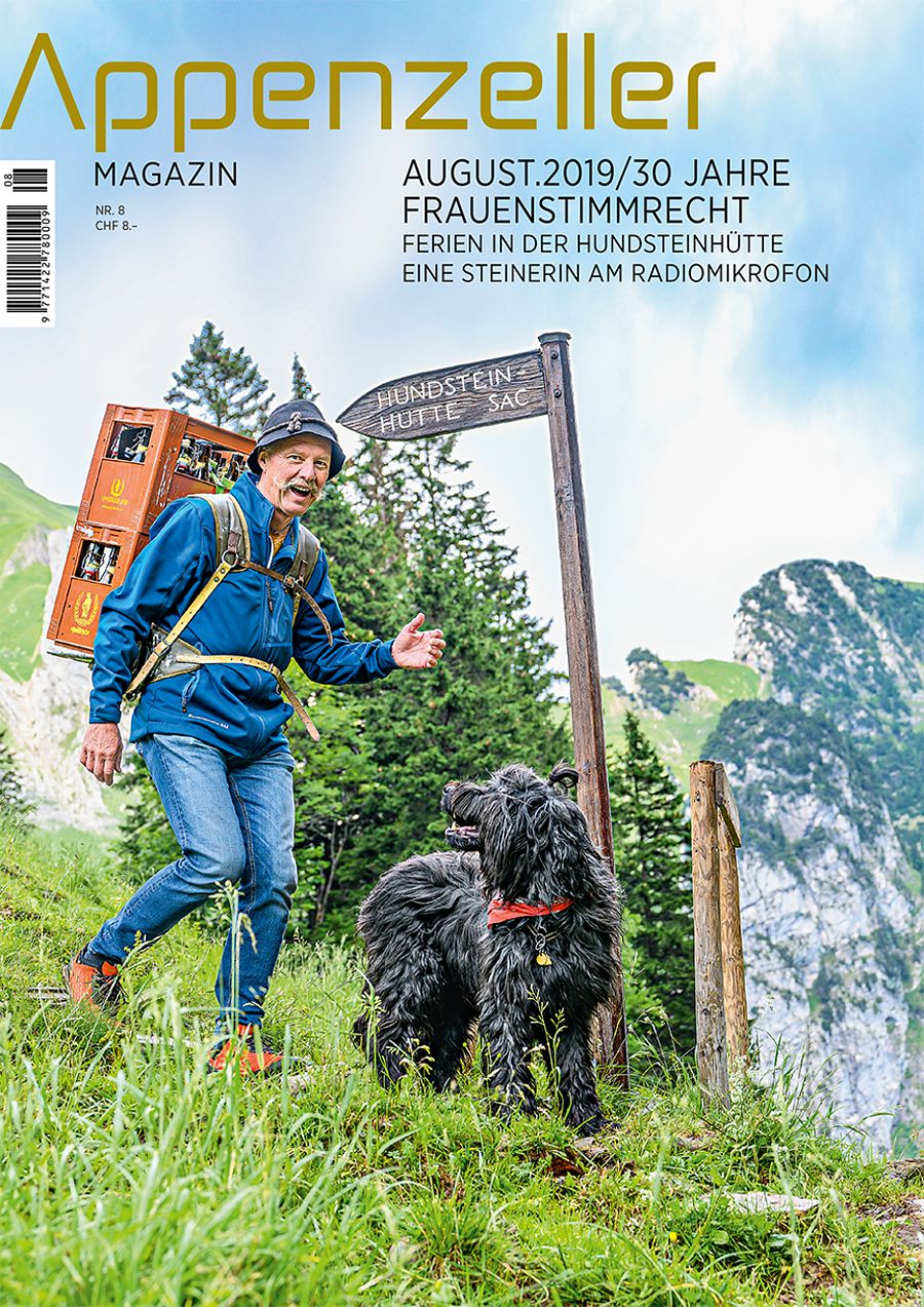Appenzeller Magazin August 2019