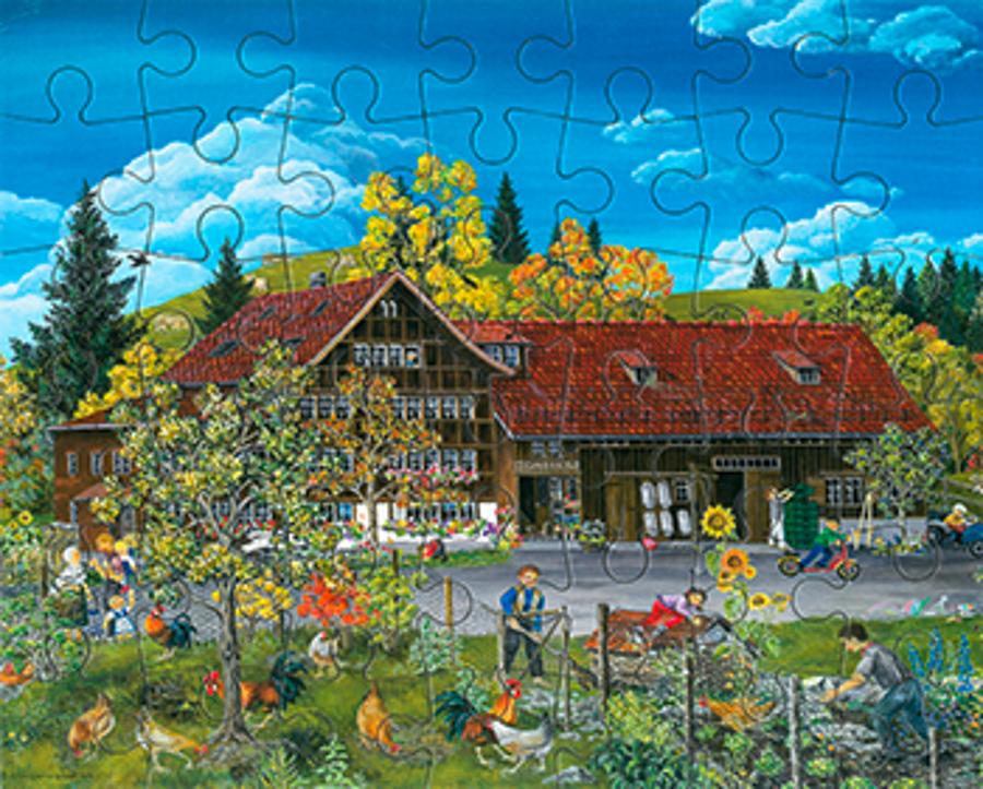 Puzzle Bommes Gais