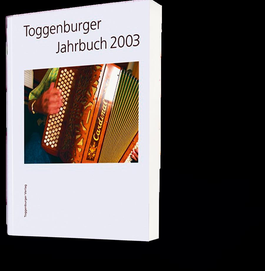 Toggenburger Jahrbuch 2003