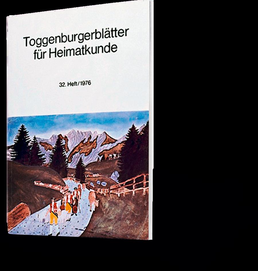 Toggenburgerblätter für Heimatkunde 32. Heft 1967