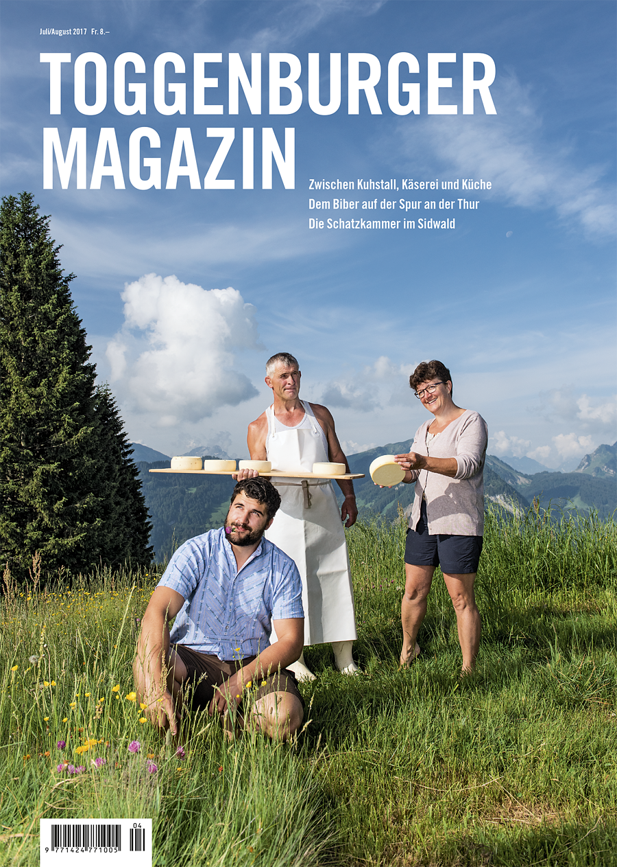 Toggenburger Magazin Juli/August 2017