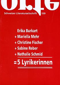 Nr. 139: Fünf Schweizer Lyrikerinnen