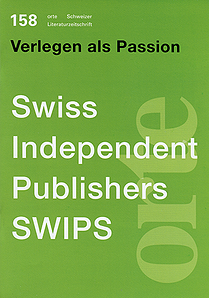 Nr. 158: SWIPS - Swiss Independent Publishers