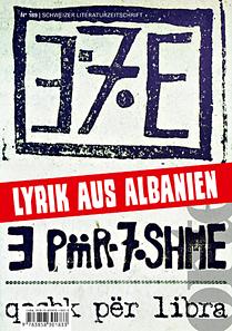 Nr. 189: Lyrik aus Albanien