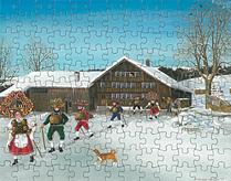 Puzzle Silvesterchlausen