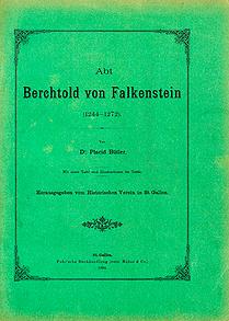 Abt Berchtold von Falkenstein (1244-1272)