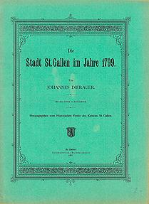 Die Stadt St. Gallen im Jahre 1799