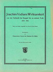 Joachim Vadians Wirksamkeit