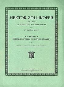 Hektor Zollikofer (1799-1853)