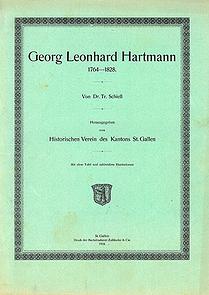 Georg Leonhard Hartmann 1764-1828