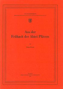 Aus der Frühzeit der Abtei Pfävers