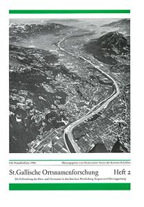 St. Gallische Ortsnamenforschung - Heft 2