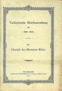 Vadianische Briefsammlung IV.  1526-1530
