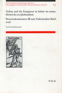 Vadian und die Ereignisse in Italien im ersten Drittel des 16. Jahrhundert
