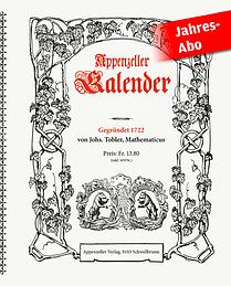Jahresabo Appenzeller Kalender