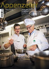 Appenzeller Magazin Januar 2017 Generationenwechsel Pumpernickel Aktiv gegen den Januarblues