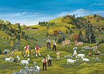Ausflug auf die Alp