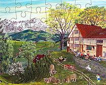 Puzzle Sommer Säntis