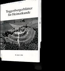 Toggenburgerblätter für Heimatkunde. 38. Heft 1990